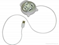 USB HUB/ retractable wire HUB/ USB 2.0 HUB / 4 ports USB HUB