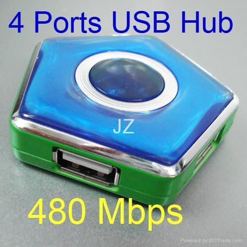 4 port usb hub/usb hub 2.0/usb gift/new usb product