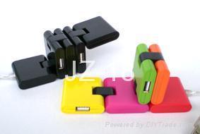 4 ports PC HUB, USB HUB,computer USB2.0 HUB,4 ports USB HUB two-double HUB