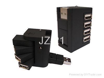 USB HUB/4-port Usb Hub/USB 2.0 HUB/rack-drawer hub