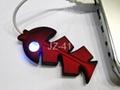 Cute Fish High Speed Mini 4 Port USB 2.0 Hub