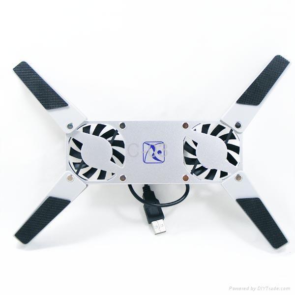 Mini folding laptop cooling pad