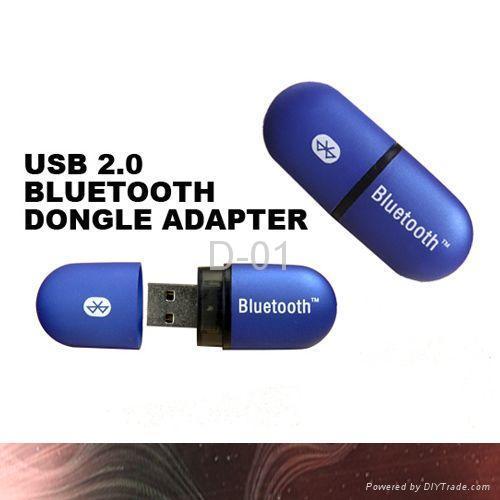 USB 100m Bluetooth Dongles with LED Status Indicators