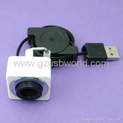 Driverless USB 2.0 MIni laptop webcam PC Camera