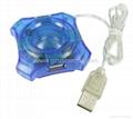 mini USB2.0 4 port usb hub
