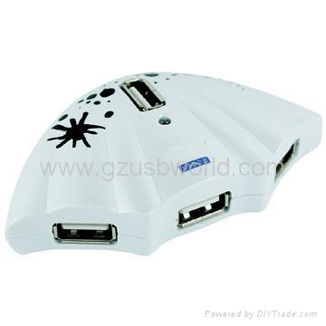 The newest design 4 port usb 2.0 hub