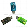 3D Sound 5.1 TIDE USB sound card