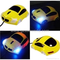 USB 3D optical car mouse mice