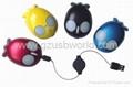 3D optical mouse USB fish mouse