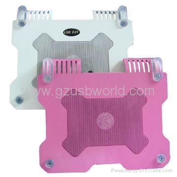 New Aluminium mini USB Fan Notebook Laptop Cooling Cooler Pad