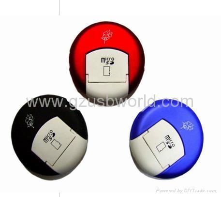 USB 2.0 Micro SD T-Flash TF Memory Card Reader Writer