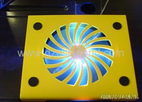 laptop cooling pad with blue light