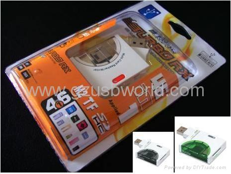 All in one card reader writer