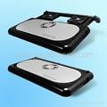 aluminium laptop cooling pad
