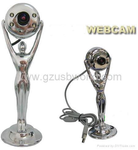 Metal webcam pc camera web camera with 4 LED night vision