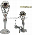 Metal webcam pc camera web camera with 4 LED night vision