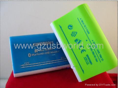 USB bluetooth V2.0 Adapter Dongle Multislot Card Reader USB Combo