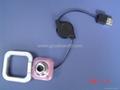 Mini folding laptop webcam pc camera web camera