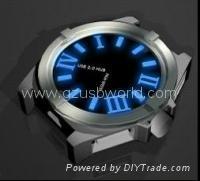 USB 2.0 watch usb hub 4 port
