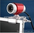 New USB2.0 Driver Free Webcam pc camera for PC&Laptop
