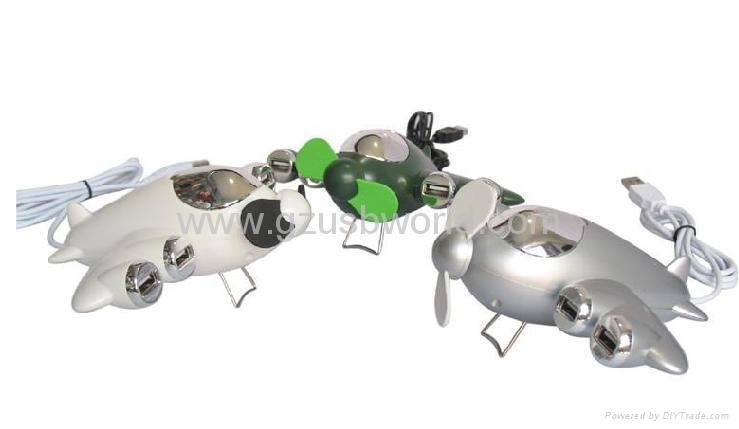 fighter USB HUB  with fan