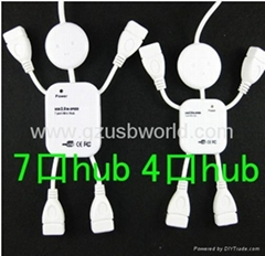 happy man 7 ports usb 2.0 hub