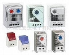 小型温度控制器,固定温度控制器,配电柜温控器