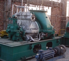 condensing steam turbine generator