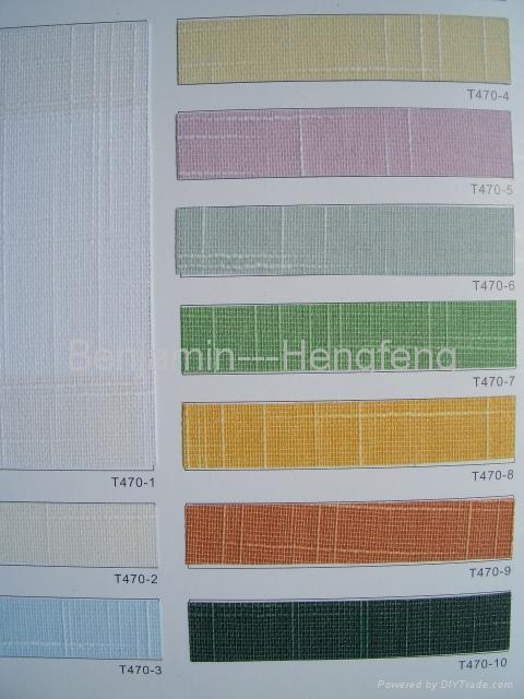 Pigment color series for Vertical Blinds 2