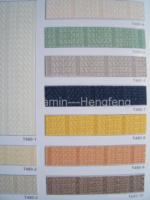 Pigment color series for Vertical Blinds 3