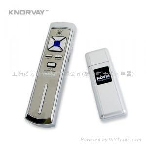 KNORVAY 诺为 V9  模拟鼠标左右键 黑屏激光U盘笔 2