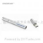 KNORVAY 诺为 V610 铜质高档激光翻页U盘激光笔 1