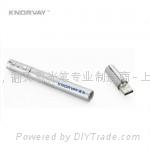KNORVAY 諾為 V610 銅質高檔激光翻頁U盤激光筆