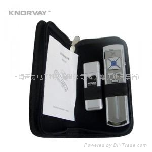 KNORVAY 诺为 V9  模拟鼠标左右键 黑屏激光U盘笔 1