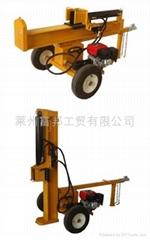 汽油动力劈木机