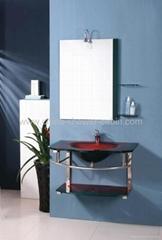 wash basin glass basin