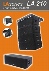 Two-Way Line Array Loudspeaker System