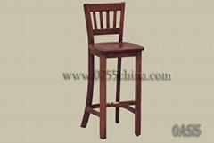 澳格实木商城吧椅01