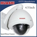 4.5 Inch 10X Outdoor High Speed Dome Camera,CCD Camera