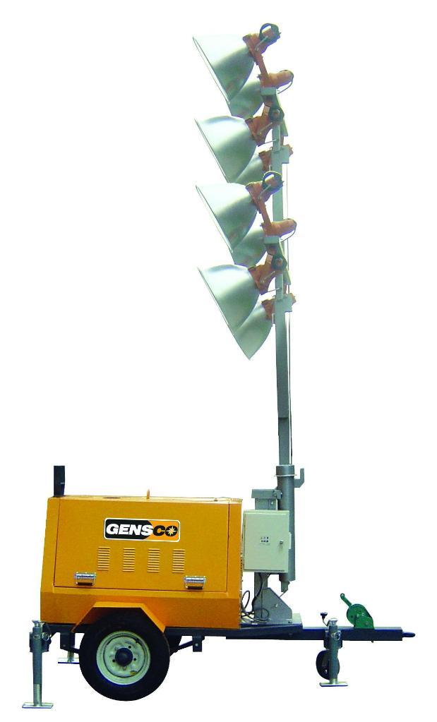 Mobile Light Tower Dmlt41000 6 Gensco China