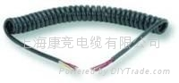 弹簧线,螺旋电缆,弹弓线,卷线,螺旋线