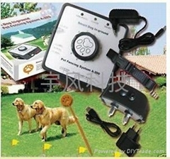 Smart Dog In-ground Pet Fencing System- Receiver can be charged