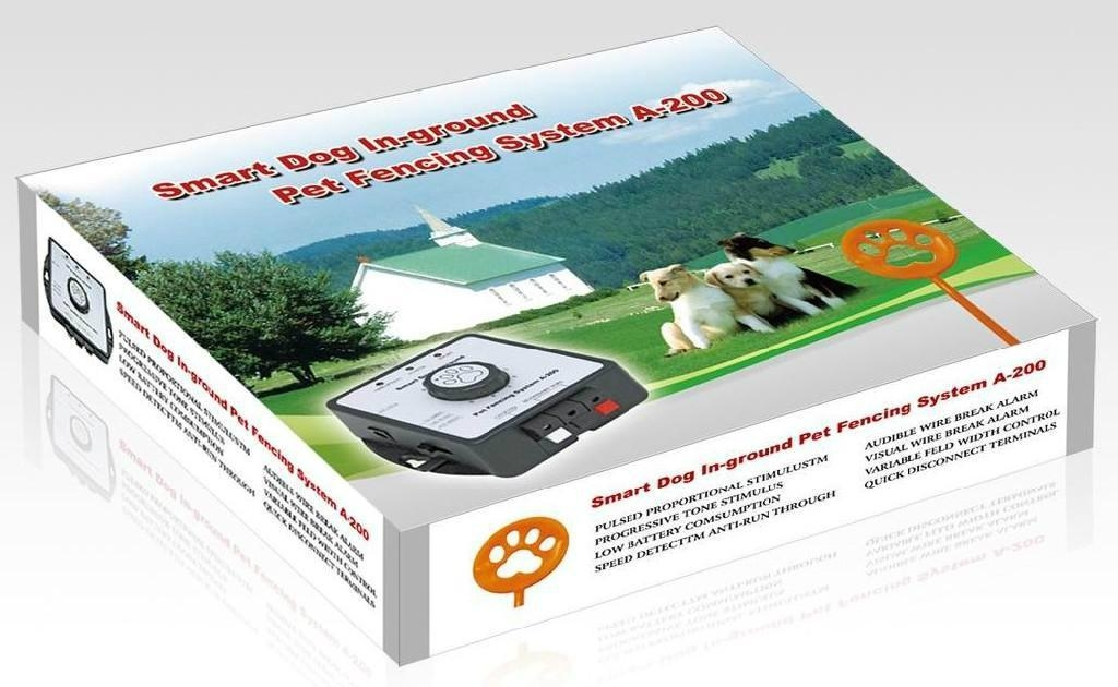 Smart Dog In-ground Pet Fencing System- Receiver can be charged 4