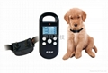 300 meter rang LCD display waterproof remote pet trainer for 1dog