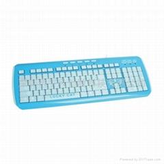 新一代蓝色键盘