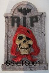 Latex Tombstone - Halloween Decoration