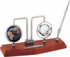 寶石地球儀工藝禮品,桌面擺設禮品