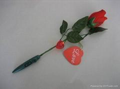 Recording rose Romantic
