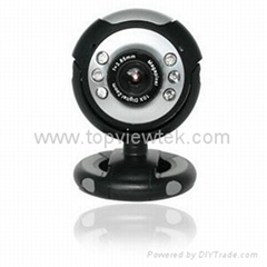 Webcam,PC Camera with microphone and LED light