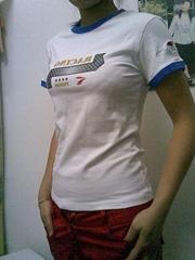 库存女装时尚T恤空白纯棉T恤POLO衫广告衫